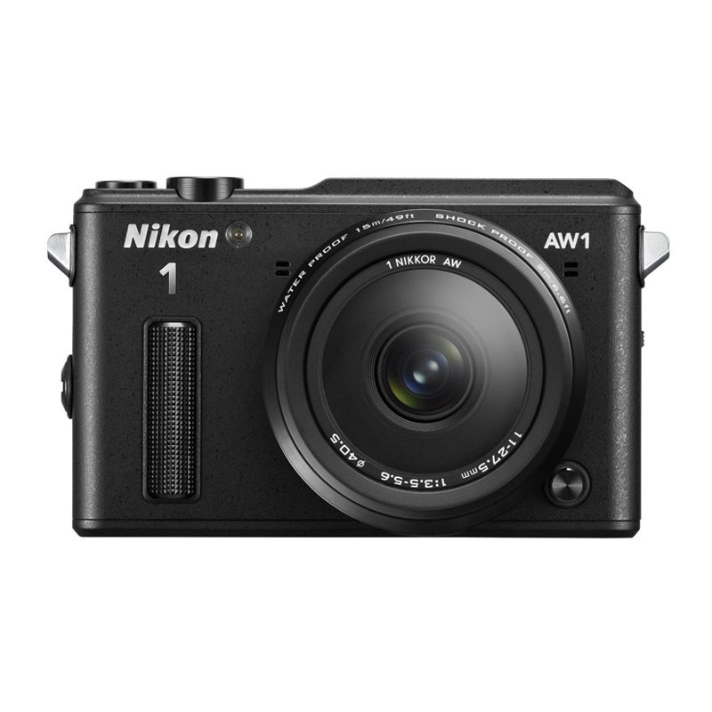 Nikon 1 AW1 Kit 11-27.5mm Watterproof Black Kamera Mirrorless