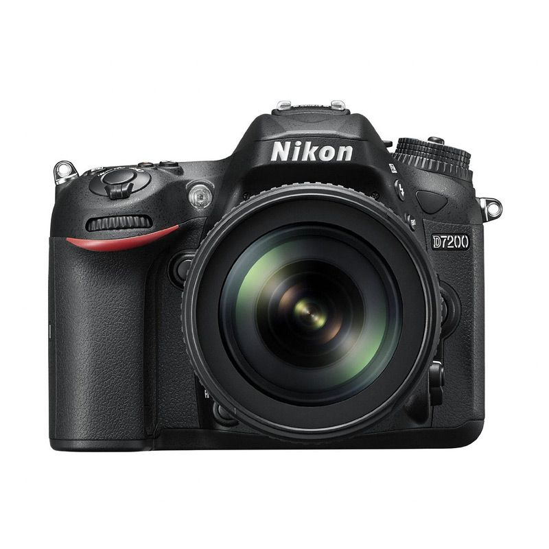 Nikon D7200 Kit 18-105mm VR Black Kamera DSLR