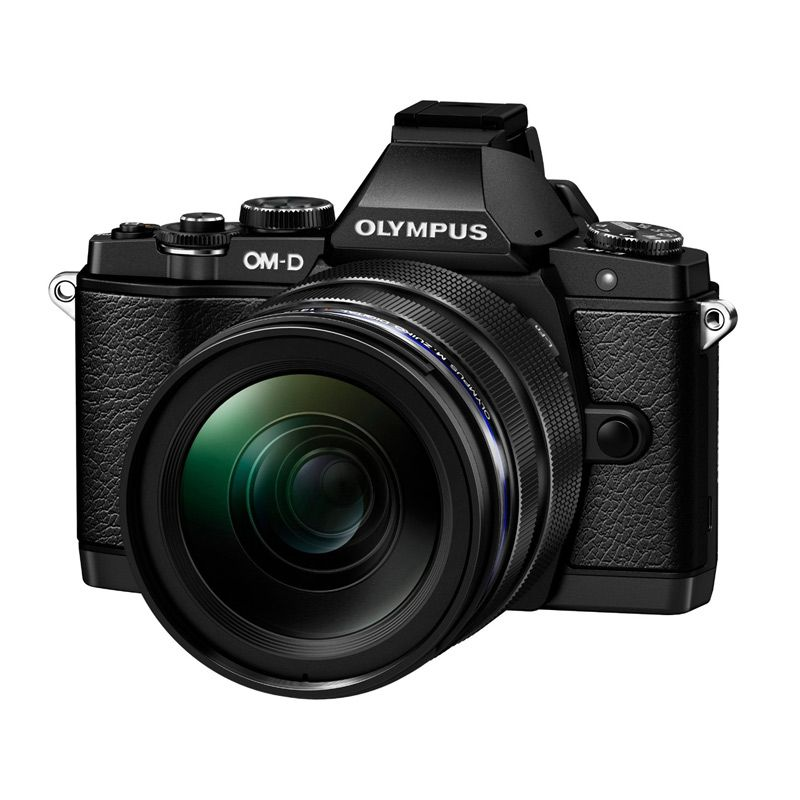 Olympus OM-D E-M5 Kit 12-40mm Black Kamera Mirrorless