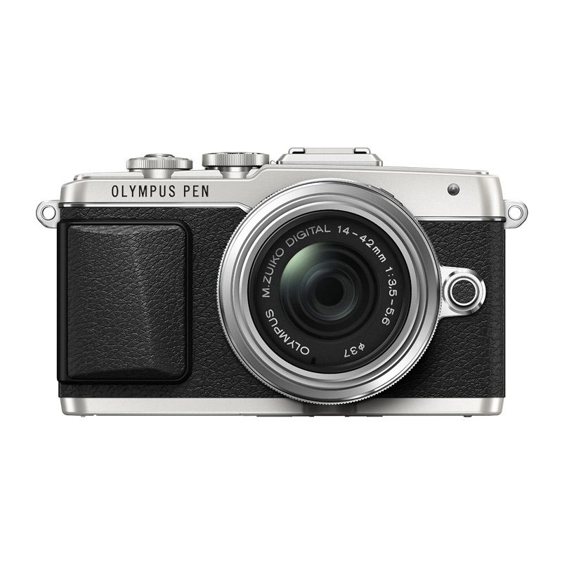 Olympus PEN E-PL7 KIT 14-42mm II R Silver Kamera Mirrorless