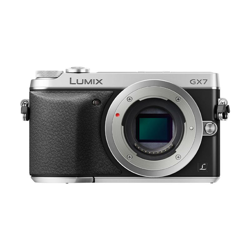 Panasonic Lumix DMC-GX7 Body only Silver Kamera Mirrorless