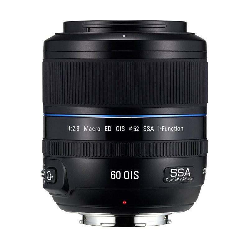 Samsung NX 60mm f2.8 i-Function Macro Lensa Kamera