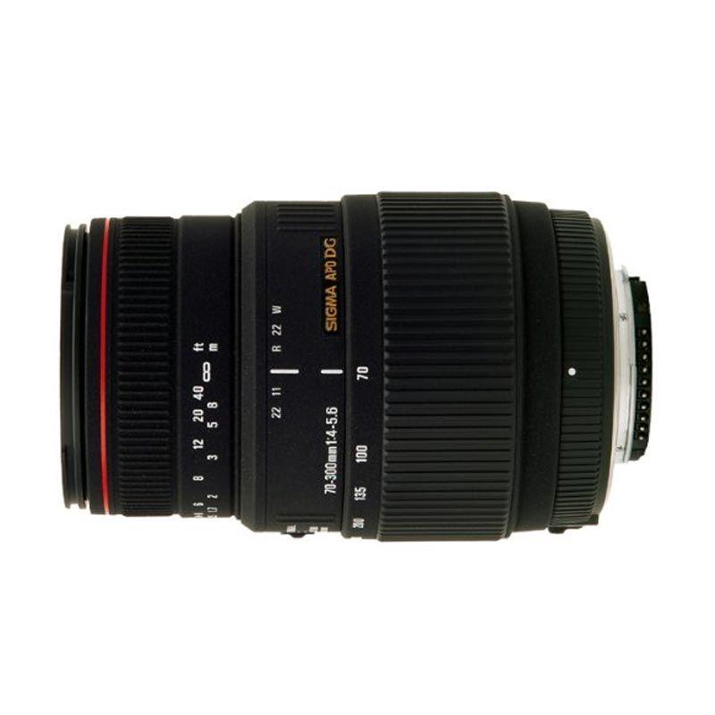 Sigma AF 70-300mm f/4-5.6 APO Macro DG Lensa Kamera for Canon