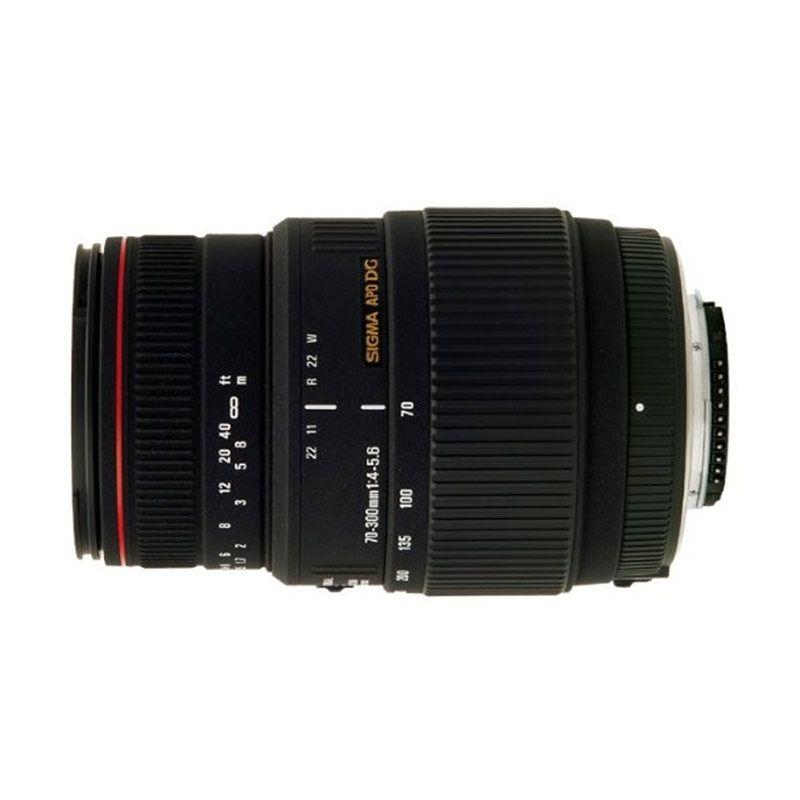 Sigma AF 70-300mm f/4-5.6 APO Macro DG Lensa Kamera for Nikon
