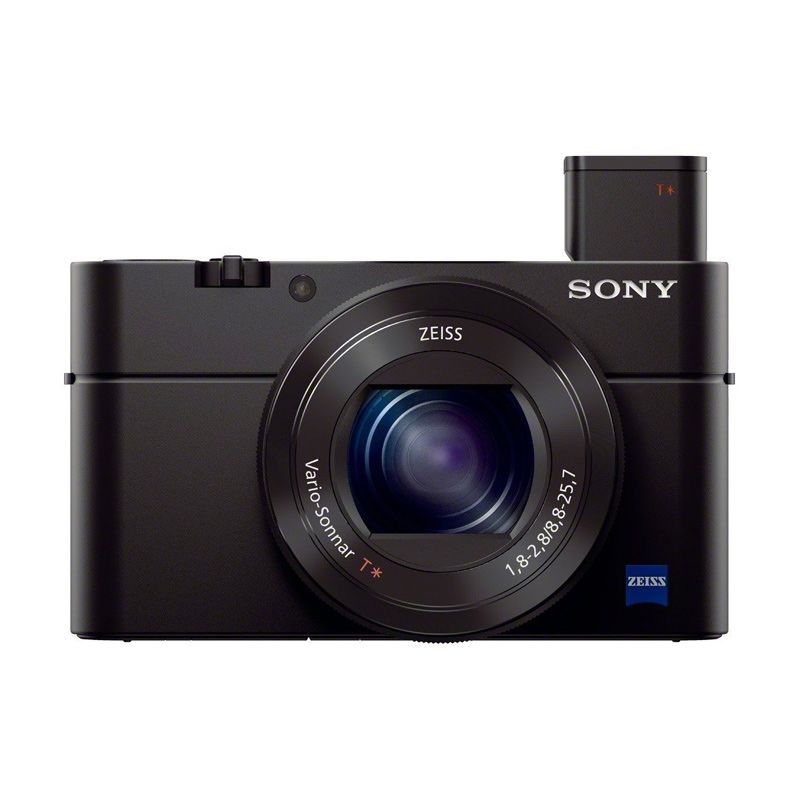 Sony Cyber shot DSC RX100 III Hitam Kamera Pocket