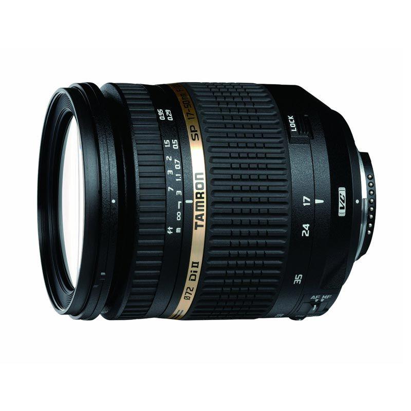 Tamron AF 18-270mm f/3.5-6.3 Di II VC PZD Lensa Kamera for Canon