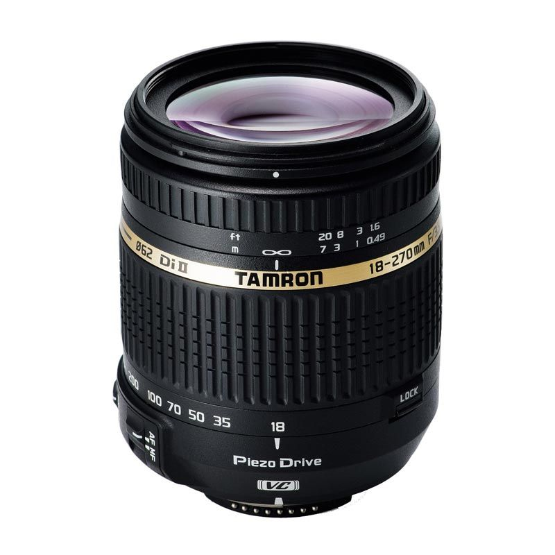 Tamron AF 18-270mm f/3.5-6.3 Di II VC PZD Lensa Kamera for Nikon