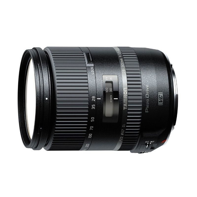 Tamron AF 28-300mm F/3.5-6.3 Di VC PZD Lensa Kamera for Canon