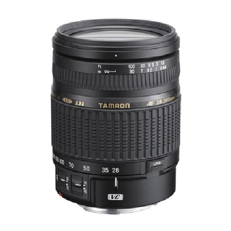 Tamron AF 28-300mm F/3.5-6.3 Di VC PZD Lensa Kamera for Nikon
