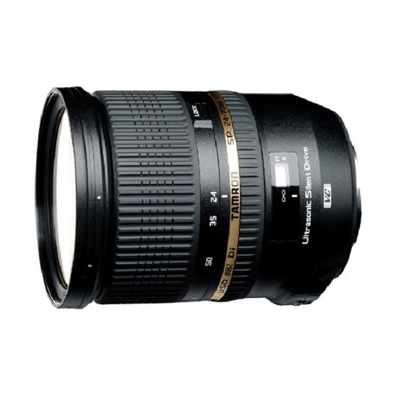 Tamron SP 24-70 f2.8 DI VC USD Lensa Kamera for Canon