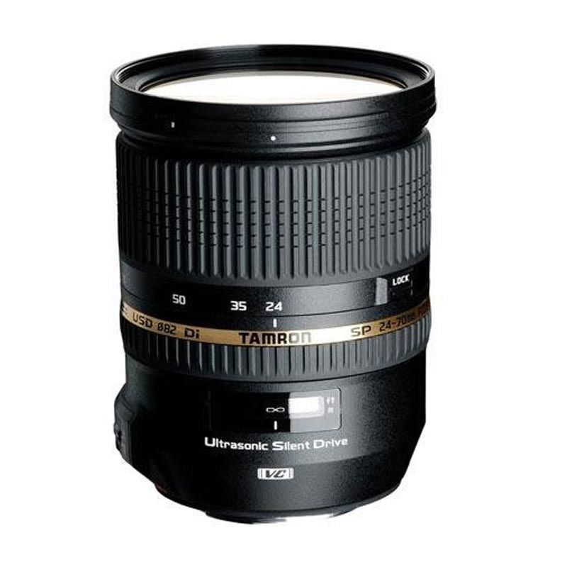 Tamron SP 24-70 f2.8 DI VC USD Lensa Kamera for Nikon