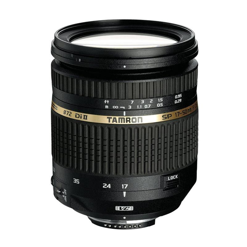 Tamron SP AF 10-24mm F/3.5-4.5 Di-II LD Aspherical IF Lensa Kamera for Canon