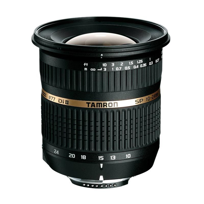 Tamron SP AF 10-24mm F/3.5-4.5 Di-II LD Aspherical [IF] Lensa Kamera for Nikon