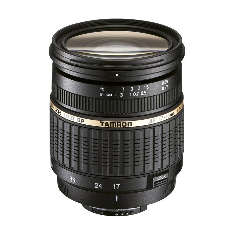Tamron SP AF 17-50mm F/2.8 XR LD Aspherical [IF] DI ll Lensa Kamera for Nikon