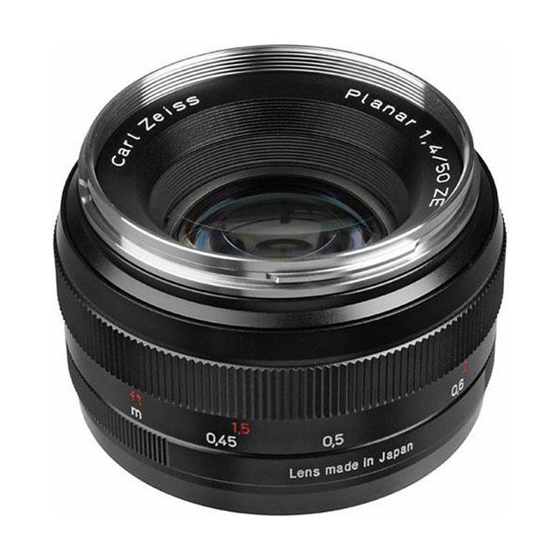 Zeiss 50mm f/1.4 Planar T* ZE for Canon Lensa Kamera