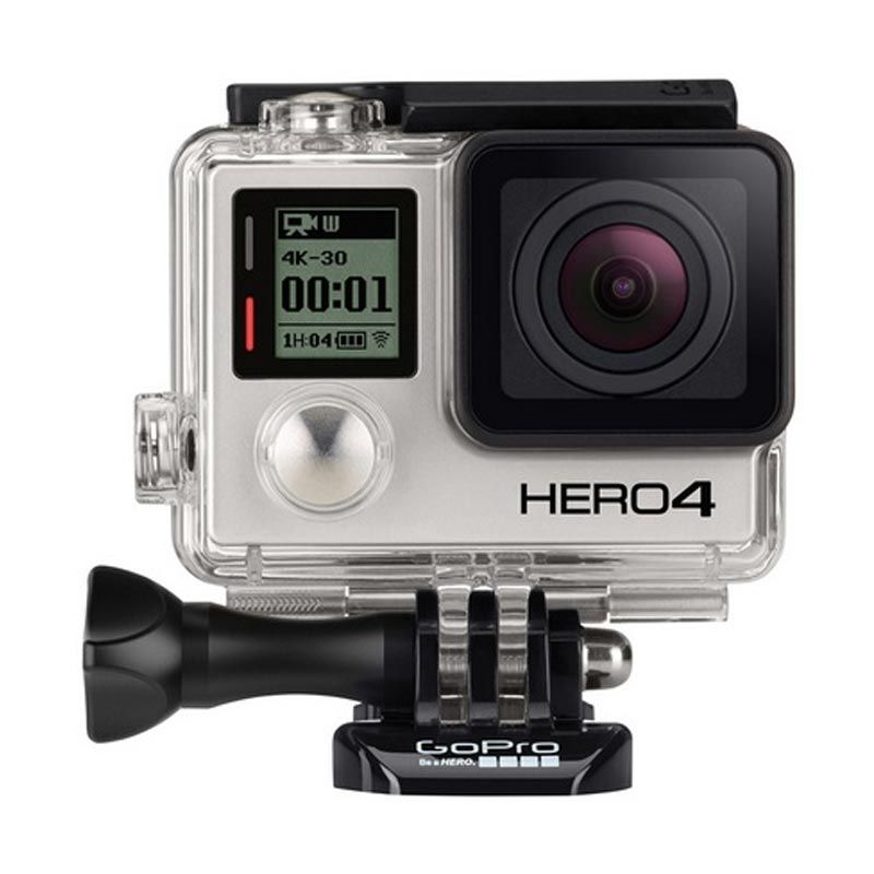 GoPro Hero4 Silver Action Camera with LCD