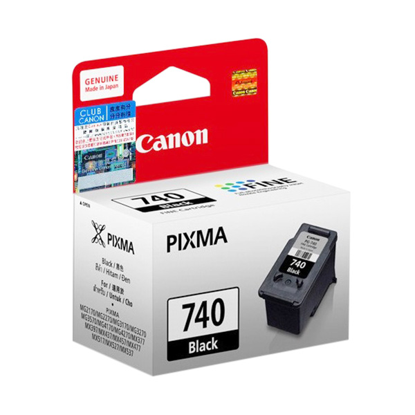 harga Canon 740 Black Ink Cartridge Blibli.com