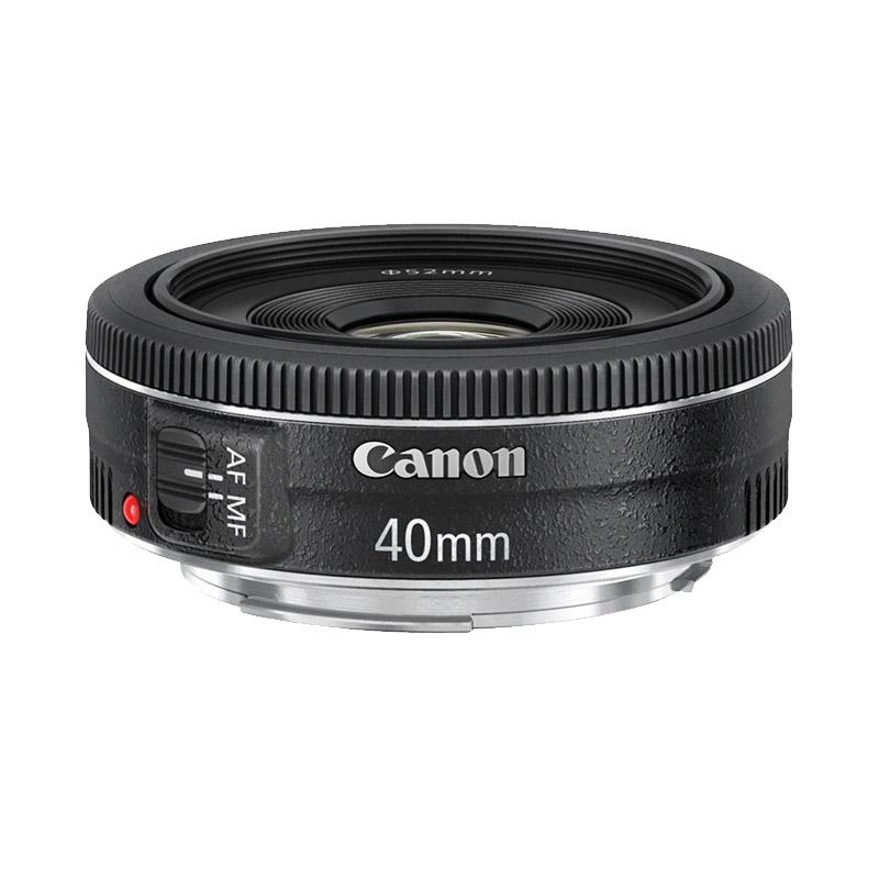 Canon EF 40mm f 2 8 STM Lensa Kamera