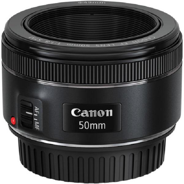 Canon EF 50mm f 1 8 STM Lensa Kamera