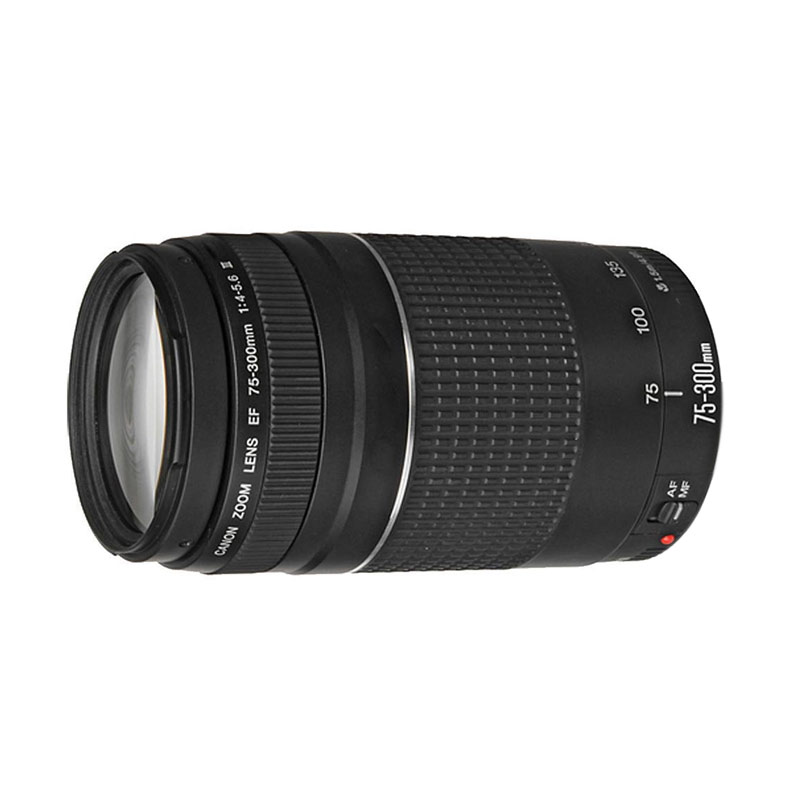 Canon EF 75-300mm f 4-5.6 III Lensa Kamera