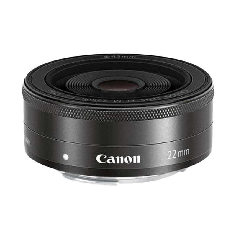 harga Canon Lensa EF M 22mm f/2 STM Blibli.com