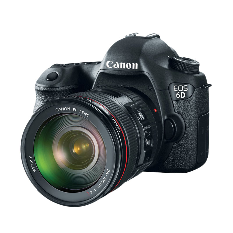 Canon EOS 6D (EF24-105 F/4L IS USM Kit) DSLR Camera