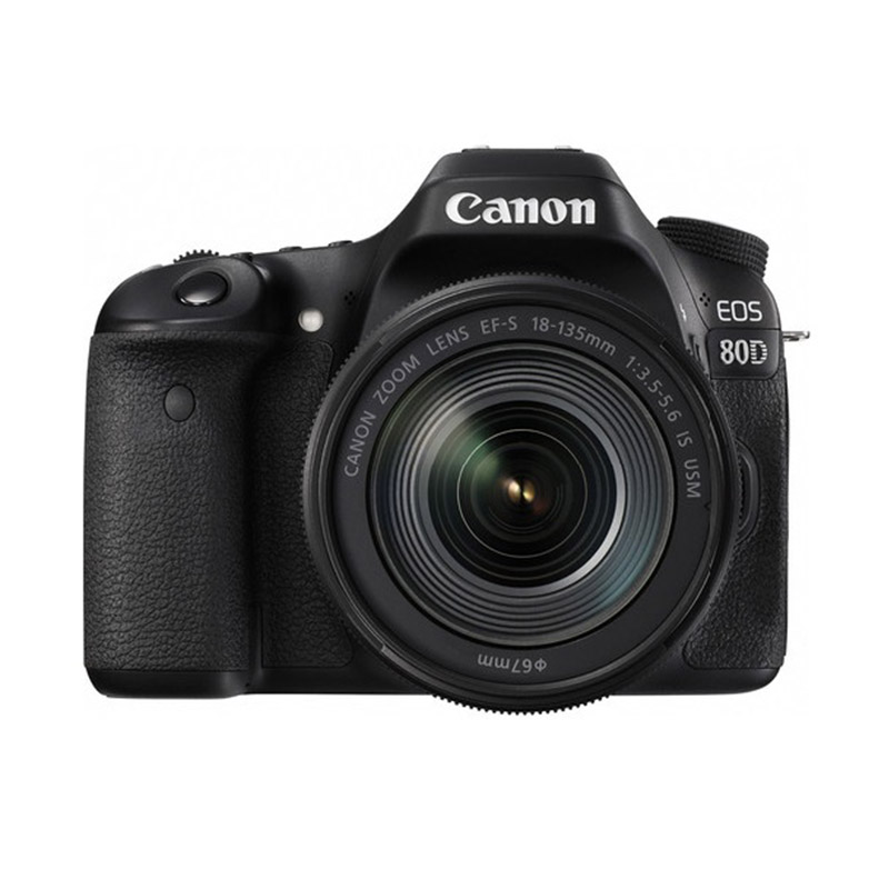 harga Canon EOS 80D with 18-135mm Lens Kamera DSLR ( Free Screenguard Terpasang ) Ladang Blibli.com