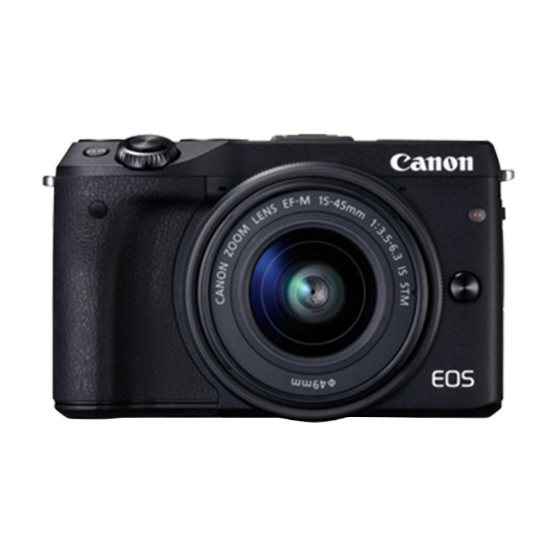 Canon EOS M3 EF-M 15-45 IS STM Black