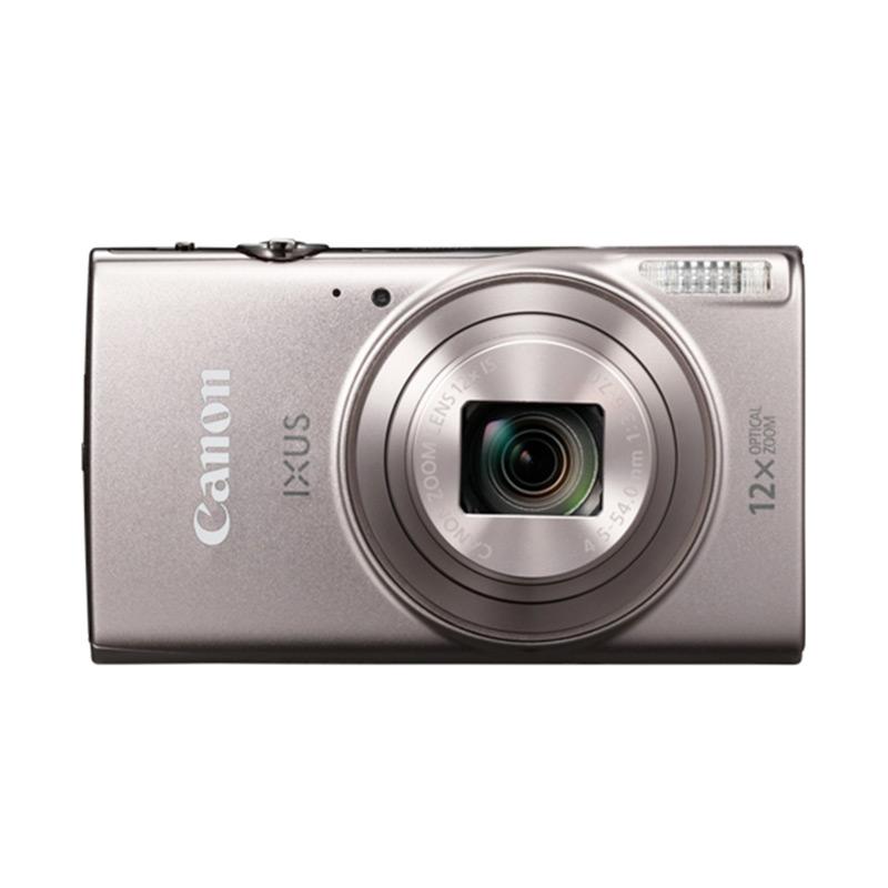 harga Canon IXUS 285 HS Kamera Pocket - Black [20.2 MP/Wifi/NFC] + Screenguard Terpasang Ladang Elektronik Blibli.com