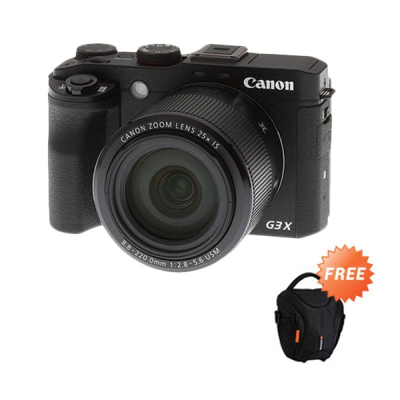 Canon PowerShot G3 X Wi-Fi and NFC Kamera Pocket + Tas Oslo 12