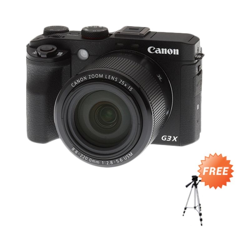 Canon PowerShot G3 X Wi-Fi and NFC Kamera Pocket + Tripod
