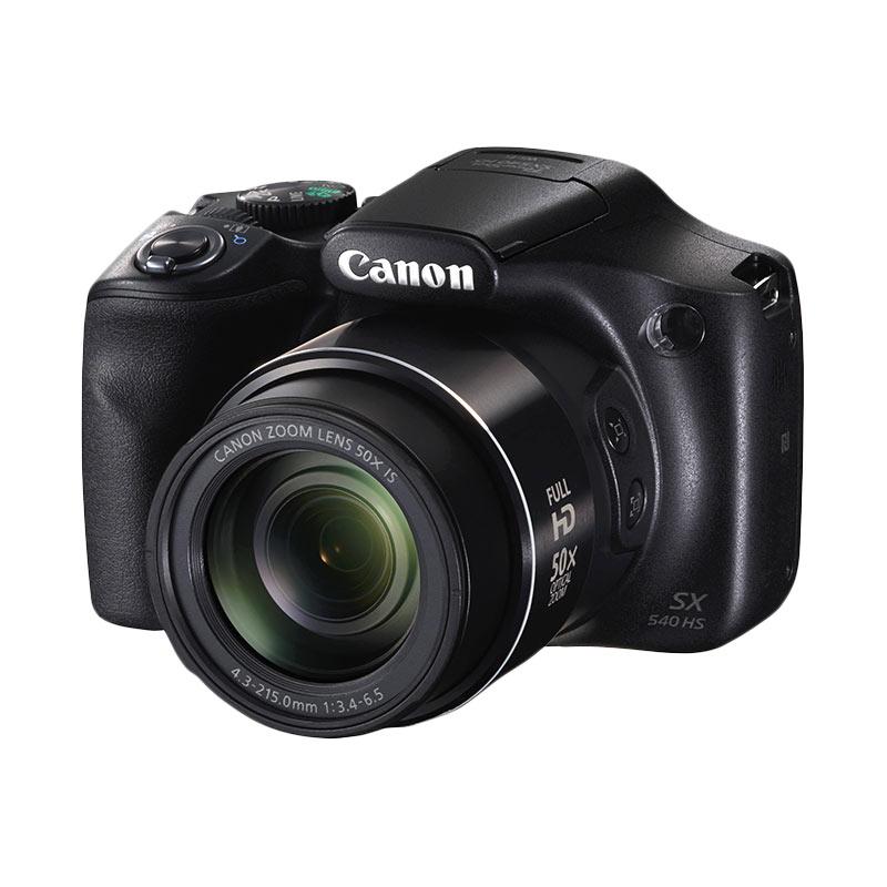 Canon PowerShot SX540 HS Kamera Pocket + Free LCD Screen Guard Terpasang