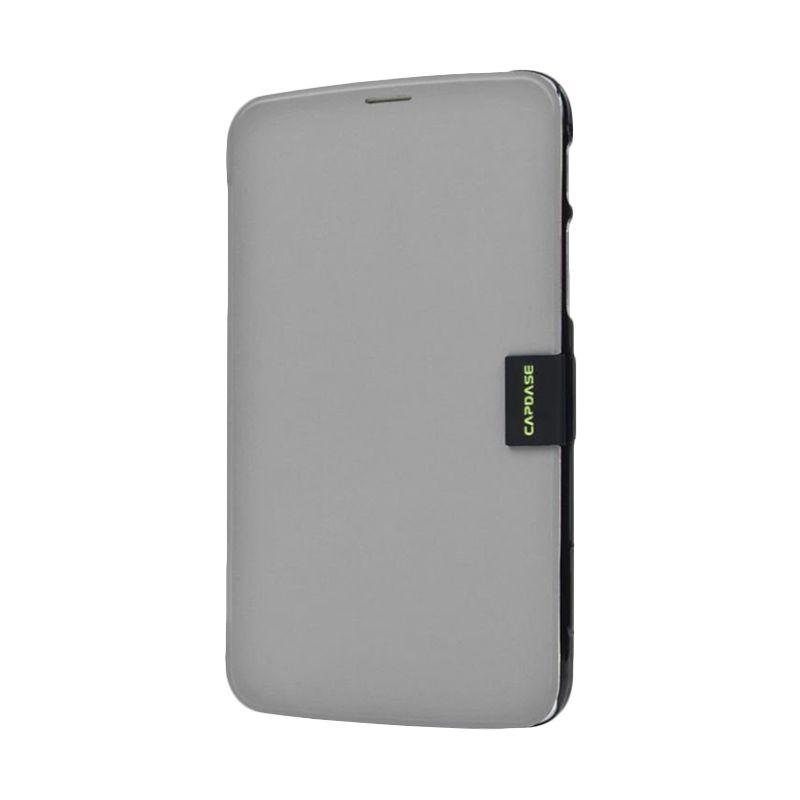 Capdase Karapace Jacket Sider Elli Abu-abu Hitam Casing for Samsung Galaxy Tab 3 [7 Inch]