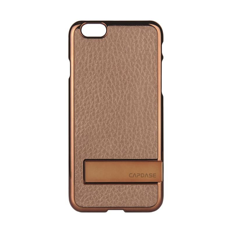 Capdase Chic Karapace Jacket Brown Casing for iPhone 6