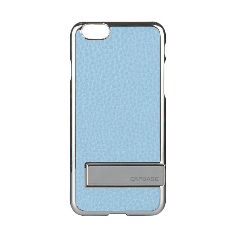 Capdase Chic Karapace Jacket Silver Light Blue casing for iPhone 6