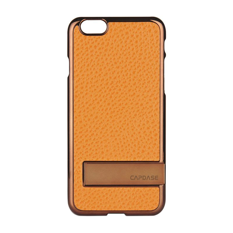 Capdase Chic Karapace Jacket Orange Casing for iPhone 6 Plus
