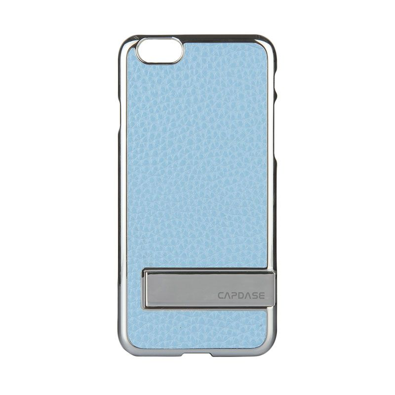 Capdase Chic Karapace Jacket Silver Light Blue Casing for iPhone 6 Plus