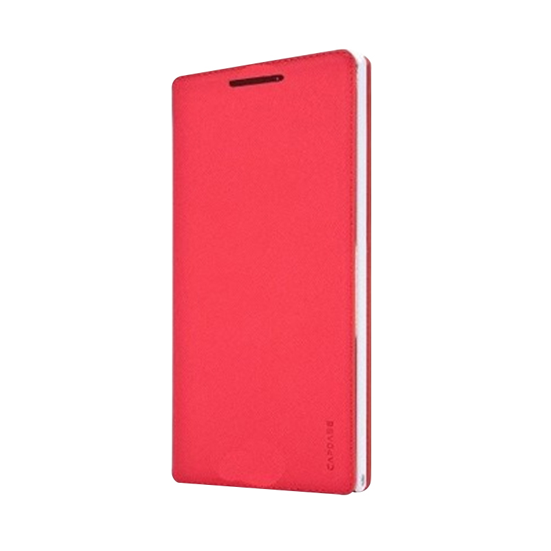 harga Capdase Folder Sider Baco Flip Cover Casing for Nokia Lumia 1020 - Red White Blibli.com