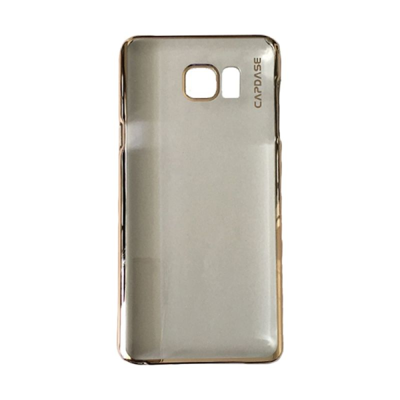 Capdase Karapace Jacket Meteor Champagne Gold Casing For Samsung Galaxy Note 5