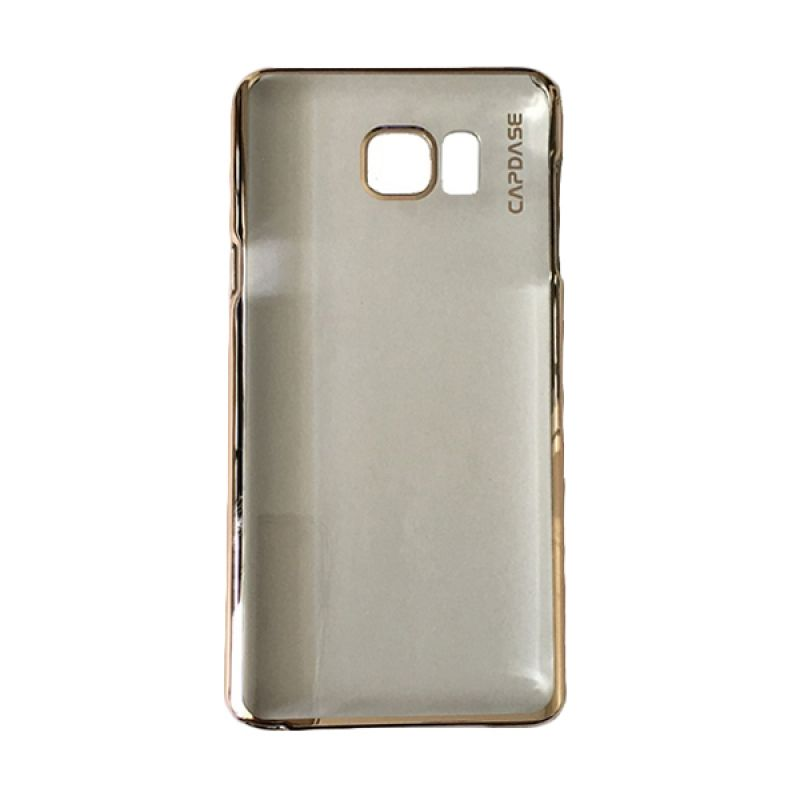 Capdase Karapace Jacket Meteor Champagne Gold Casing For Samsung Galaxy S6 Edge Plus