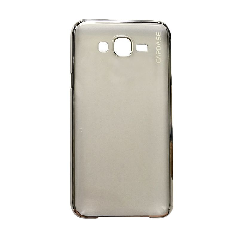 Capdase Karapace Jacket Meteor Champagne Gold Casing For Samsung Galaxy J7