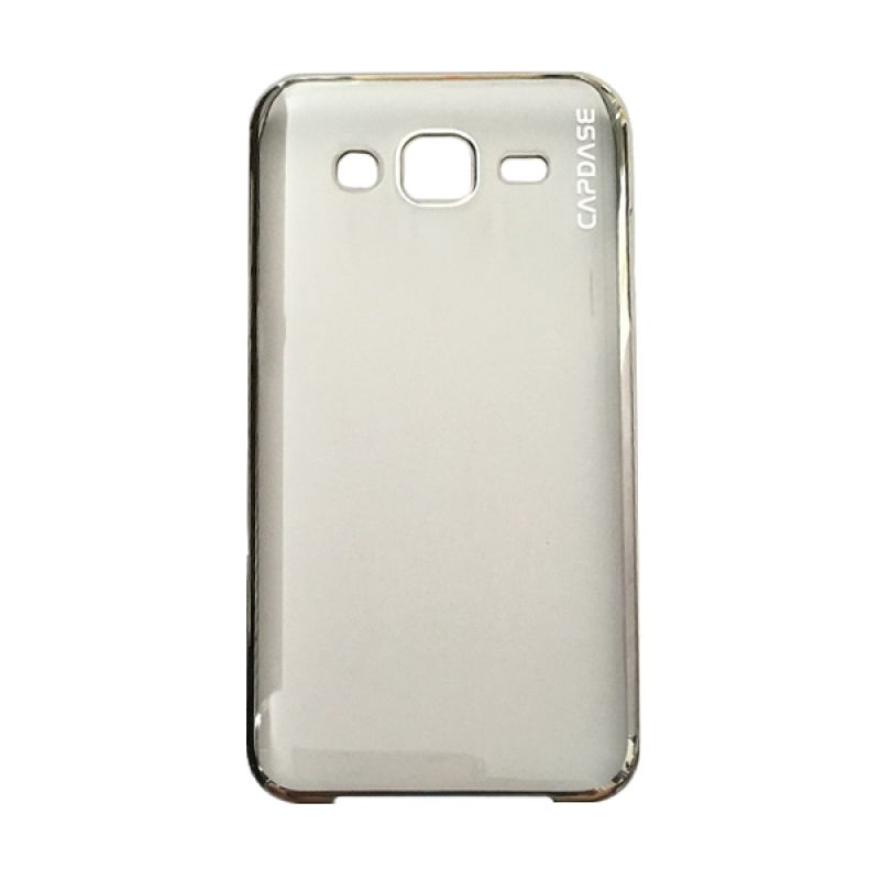 Capdase Karapace Jacket Meteor Silver Casing For Samsung Galaxy J5