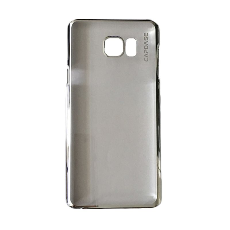 Capdase Karapace Jacket Meteor Silver Casing For Samsung Galaxy Note 5
