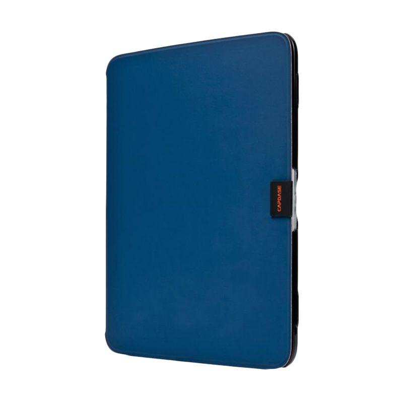 Capdase Karapace Jacket Sider Elli Folder Biru-Hitam Casing for Samsung Galaxy Tab 3 [10 Inch]