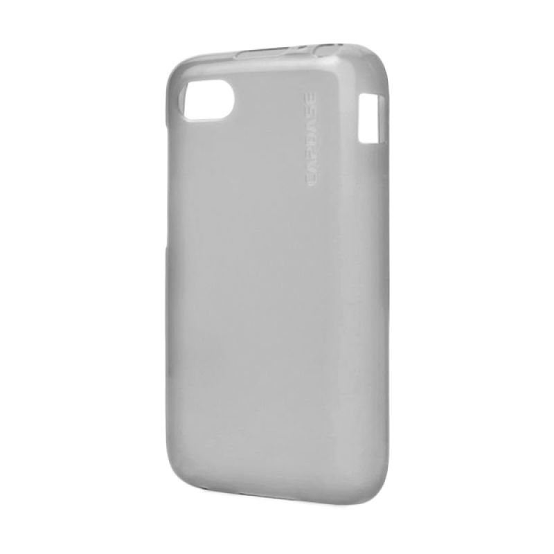 Capdase Soft jacket Lamina Tinted Black Soft Case For BB Q5