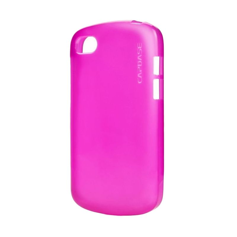 Capdase Soft jacket Lamina Tinted Pink Soft Case For BB Q5