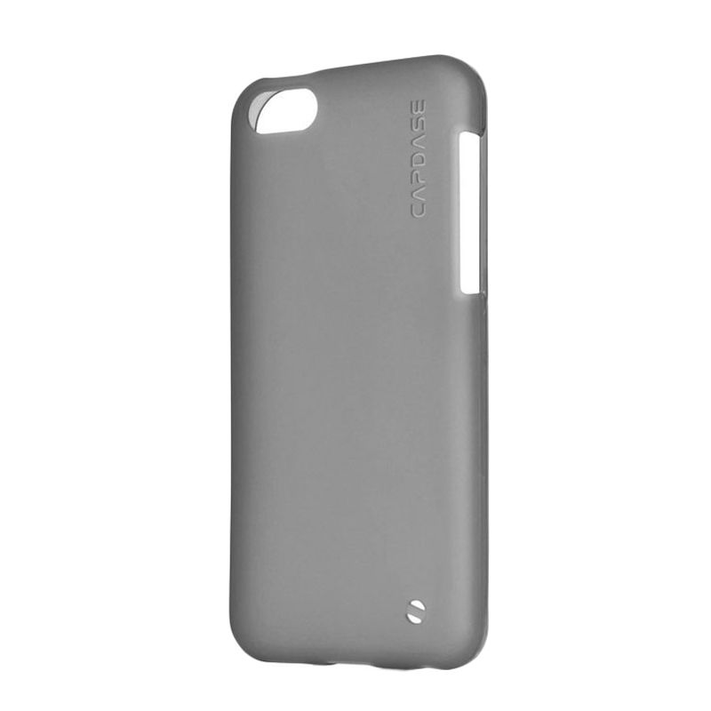 Capdase Soft Jacket Xpose Tinted Black Casing For Apple iPhone 5C