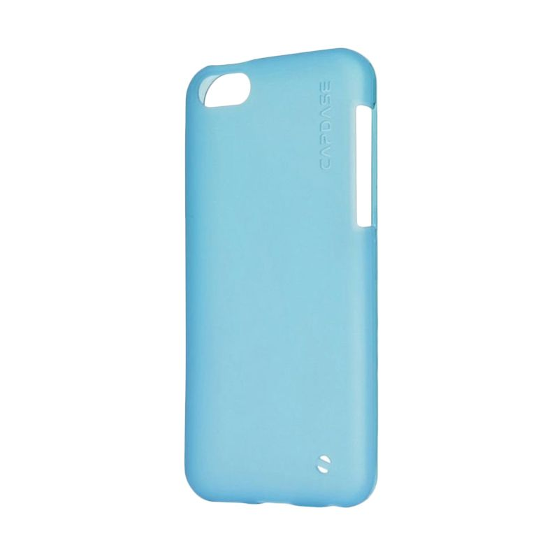 Capdase Soft Jacket Xpose Tinted Blue Casing For Apple iPhone 5C