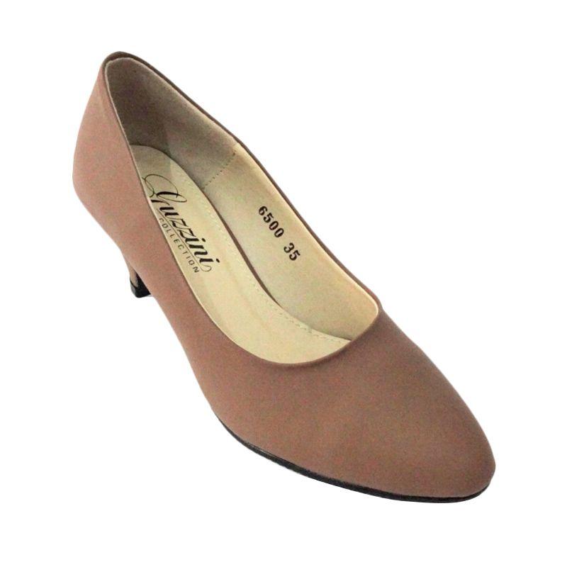 Guzzini 6500 Heels Mocca Sepatu Wanita