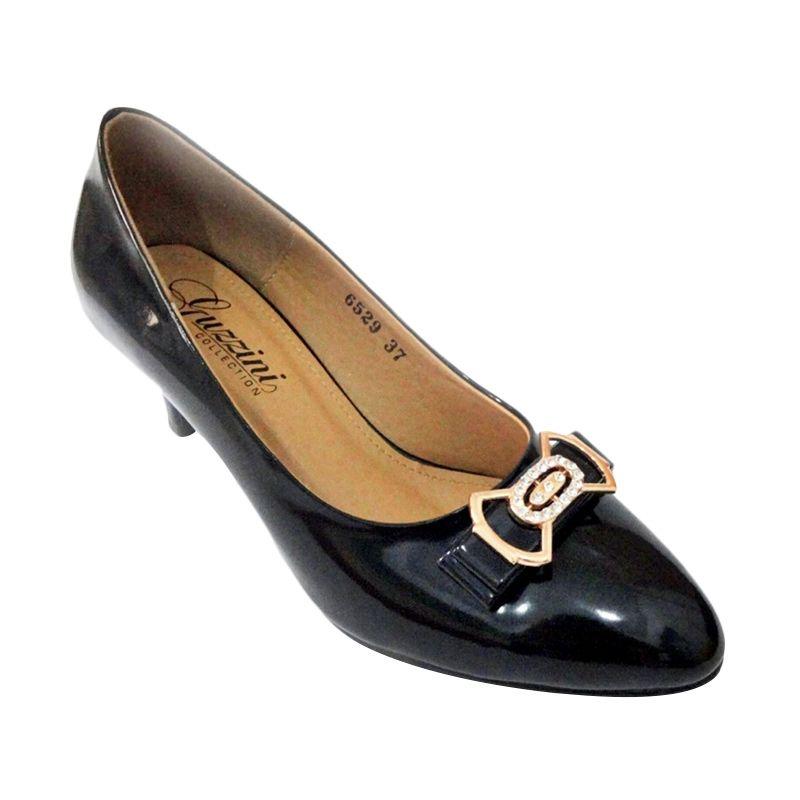 Guzzini 6529 Heels Hitam Sepatu Wanita